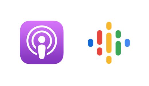 Apple PodcastとGoogleポッドキャストに対応しました